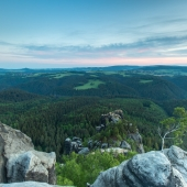 saechsische schweiz - oberhalb der haentzschelstiege - mario kegel - photokDE
